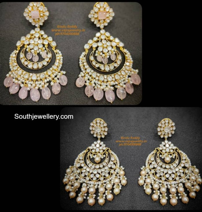 uncut diamond big chandbalis