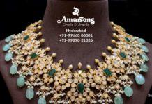 floral pachi necklace