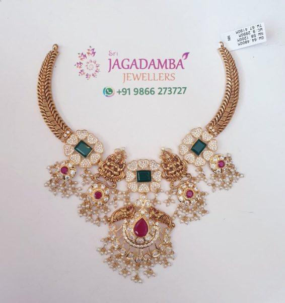 kante necklace with Lakshmi pendant (2)