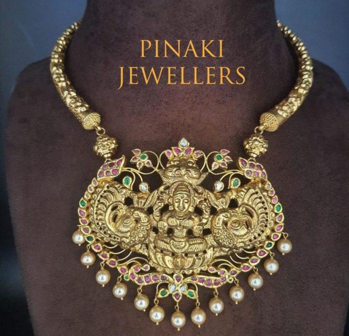 kante necklace with detachable pendant