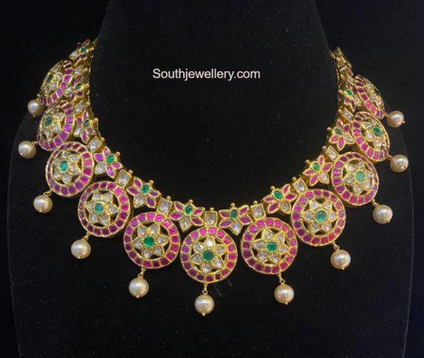 kundan bottu necklace (3)