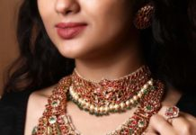 kundan choker and haram set