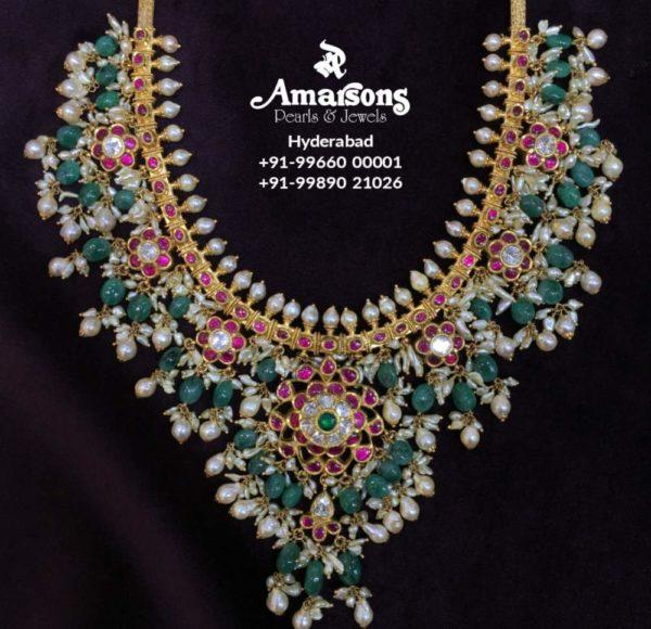 kundan guttapusalu necklace (6)