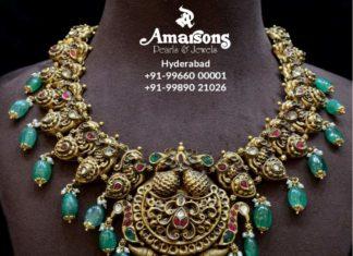 peacock nakshi necklace (11)