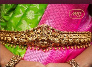 peacock nakshi vaddanam and bangles