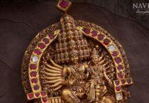 shiva parvathy pendant