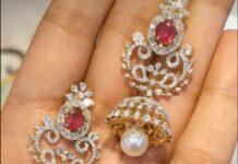 DIAMOND JHUMKAS (4)