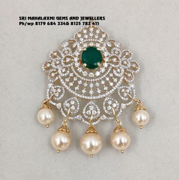 diamond and emerald choker (3)
