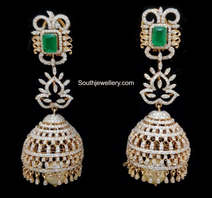diamond and emerald earrings (1)