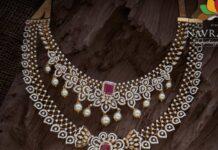 diamond necklace and haram (1)