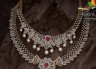 diamond necklace and haram (1)