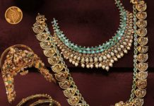 gold necklace set svtm
