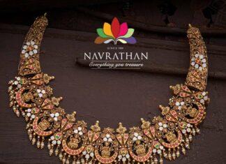 kundan lakshmi necklace