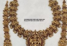 lakshmi necklace and haram (1)