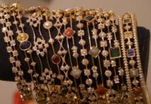 navrathan and diamond bangles