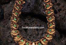 peacock gold haram aabushan