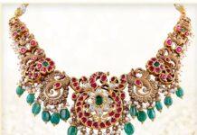peacock kundan necklace (3)