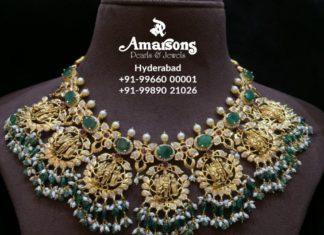 ram parivar nakshi necklace