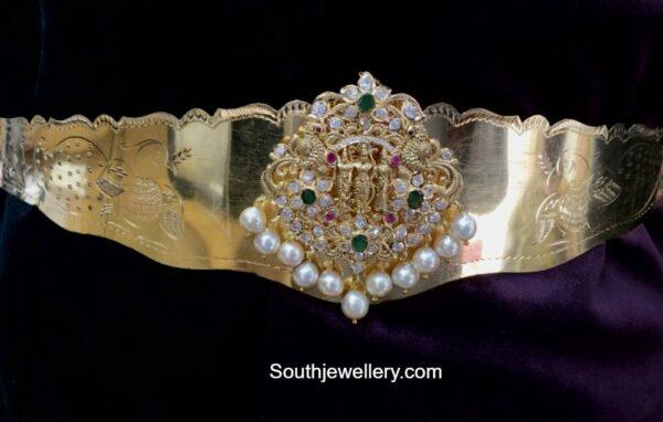 baby vaddanam with ram parivar pendant
