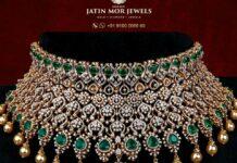 diamond and emerald choker (6)