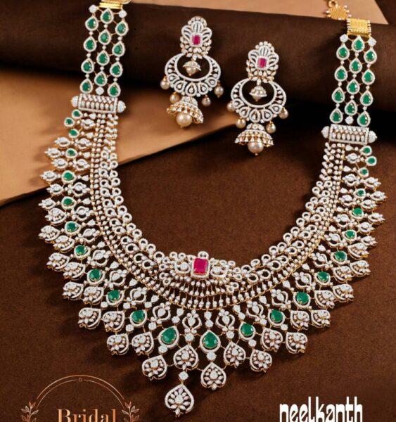 diamond emerald haram and buttalu neelkanth jewellers