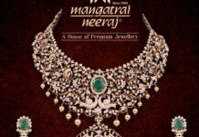 diamond haram and earrings set