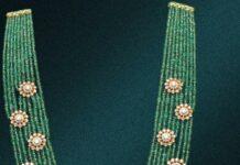 emerald beads long haram (5)