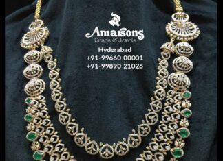 layered diamond emerald haram (6)
