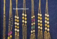 nallapusalu necklace designs