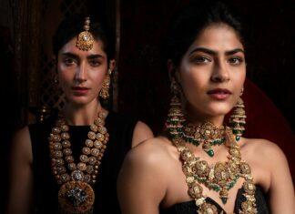 traditional antique gold bridal jewellery hazoorilal