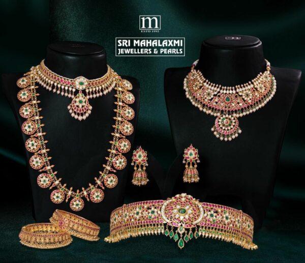 bridal kundan jewellery set