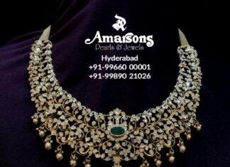 closed setting diamond necklace (11)
