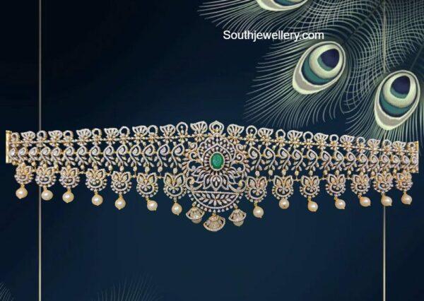 diamond and emerald vaddanam