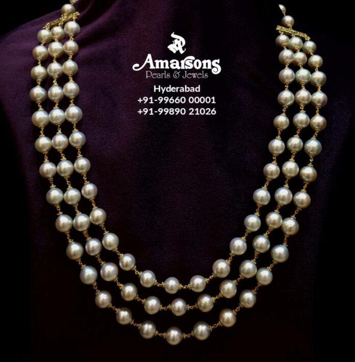 layered south sea pearl mala (1)