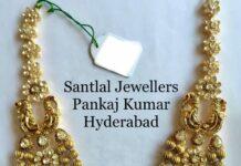 layered uncut diamond gold balls haram