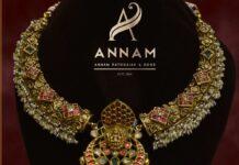 antique kante nakshi necklace