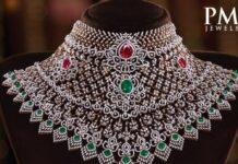 bridal diamond choker (1)