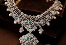 diamond and emerald necklace (3)