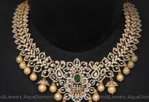 diamond and emerald necklace (4)