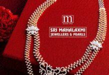 diamond haram with elephant pendant