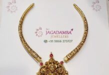 kante necklace with krishna pendant (1)