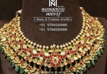 kundan necklace 22k gold