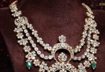 polki diamond haram krishna