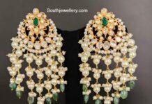 polki guttapusalu earrings