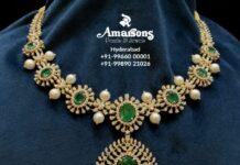 diamond and emerald necklace (6)