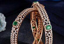 diamond emerald bangles raj diamonds
