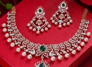 diamond necklace set neelkanth