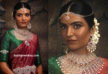 diamond ruby bridal jewellery vbj