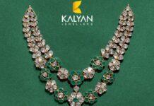 floral polki necklace
