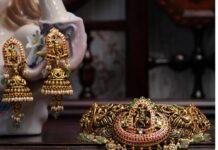 lord krishna choker set ananth diamonds